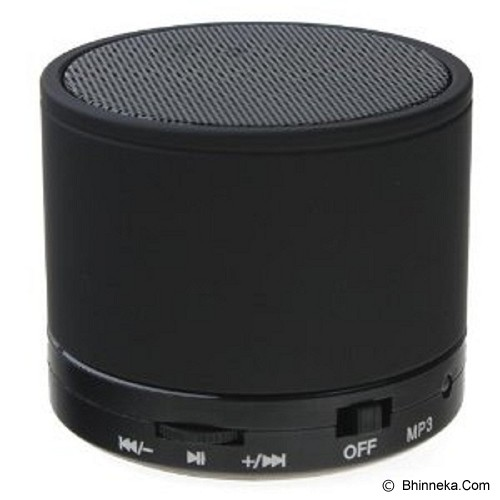 VALUESTORE Speaker Bluetooth Glitz [S10] - Black - Speaker Bluetooth & Wireless
